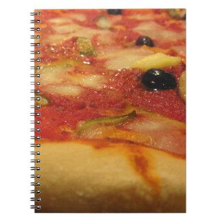 Original italian pizza notebook
