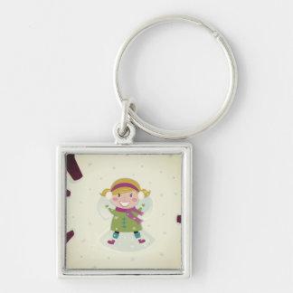 Original keychain with Angel girl