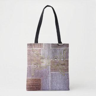 Original leather carpet craft texture tote bag