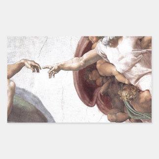 Original Michelangelo paint in sistin chapel Rome