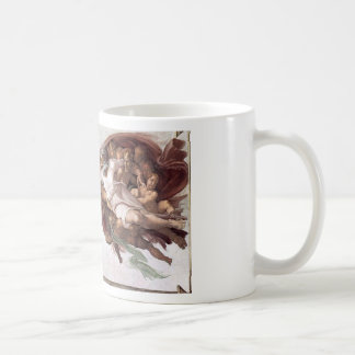Original Michelangelo paint in sistin chapel Rome Coffee Mug