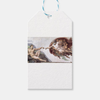 Original Michelangelo paint in sistin chapel Rome Gift Tags