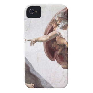 Original Michelangelo paint in sistin chapel Rome iPhone 4 Case