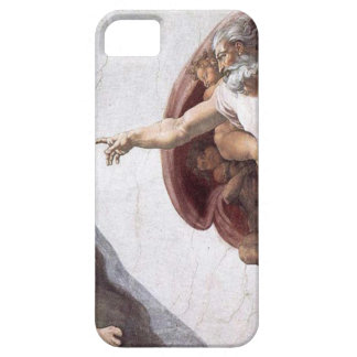Original Michelangelo paint in sistin chapel Rome iPhone 5 Case