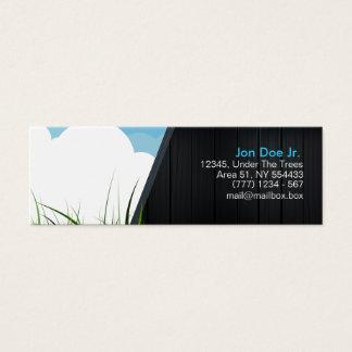 Original nature business card