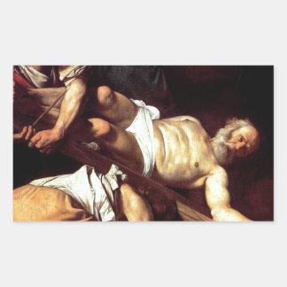 """Original paint """"La crocifissione di s Pietro"""""""