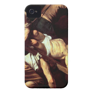 "Original paint ""La crocifissione di s Pietro"" iPhone 4 Case"