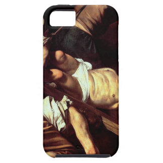 "Original paint ""La crocifissione di s Pietro"" iPhone 5 Case"