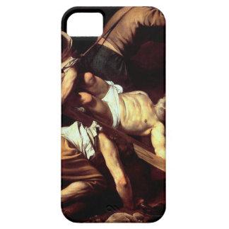 "Original paint ""La crocifissione di s Pietro"" iPhone 5 Cases"