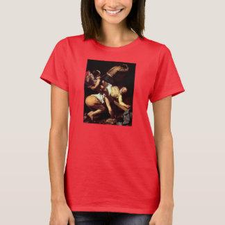 """Original paint """"La crocifissione di s Pietro"""" T-Shirt"""