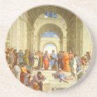 "Original paint ""The school of Athens"" by Raffaello Coaster"