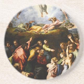 "Original paint ""the Transfiguration"" Raffaello Coaster"