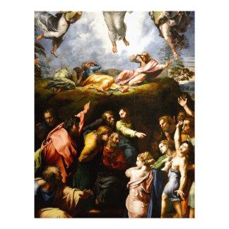 "Original paint ""the Transfiguration"" Raffaello Custom Letterhead"