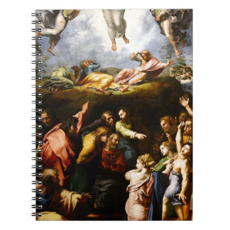 "Original paint ""the Transfiguration"" Raffaello Notebooks"