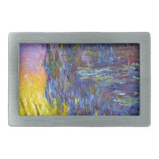 "Original paint ""The Water Lilies"" by Claude Monet Belt Buckles"