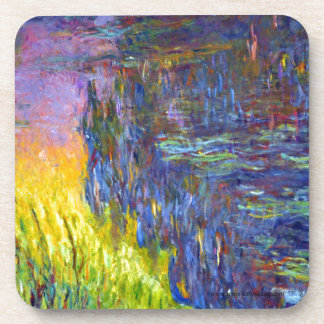 """Original paint """"The Water Lilies"""" by Claude Monet Coaster"""