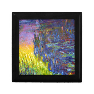 "Original paint ""The Water Lilies"" by Claude Monet Gift Box"
