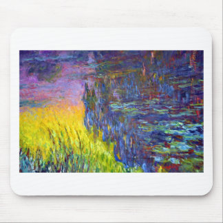 """Original paint """"The Water Lilies"""" by Claude Monet Mouse Pad"""