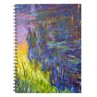 "Original paint ""The Water Lilies"" by Claude Monet Notebooks"
