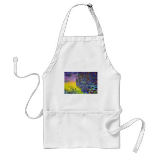 "Original paint ""The Water Lilies"" by Claude Monet Standard Apron"