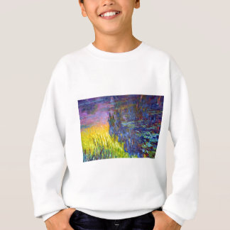 "Original paint ""The Water Lilies"" by Claude Monet Sweatshirt"