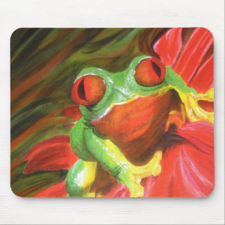 "Original Painting- ""Tree Frog"" Mousepad"