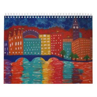 Original Paintings Calendar by Linda Powell
