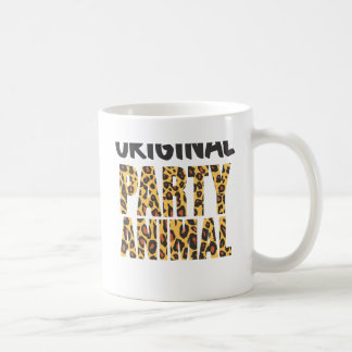 ORIGINAL PARTY ANIMAL CLASSIC WHITE COFFEE MUG
