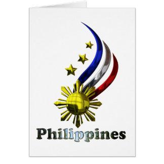 Original Philippine Logo. Mabuhay Pilipinas ! Card