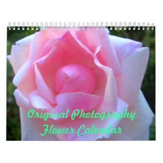 Original Photography Flower Calendar