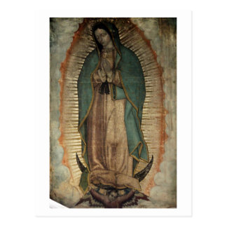 Original Picture of Our Lady of Guadalupe Postcard