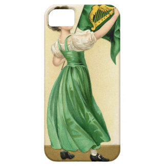 Original poster of St Patricks Day Flag Lady Case For The iPhone 5