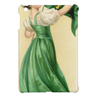 Original poster of St Patricks Day Flag Lady iPad Mini Case