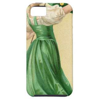 Original poster of St Patricks Day Flag Lady iPhone 5 Case