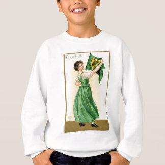 Original poster of St Patricks Day Flag Lady Sweatshirt