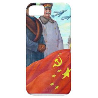 Original propaganda Mao tse tung and Joseph Stalin Case For The iPhone 5