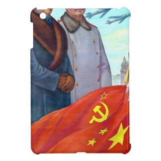 Original propaganda Mao tse tung and Joseph Stalin iPad Mini Case
