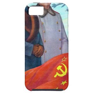 Original propaganda Mao tse tung and Joseph Stalin iPhone 5 Case