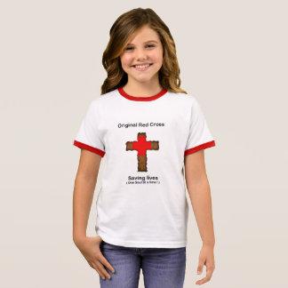 Original Red Cross (girls) Ringer T-Shirt