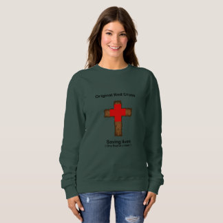 Original Red Cross (ladies sweatshirt) Sweatshirt