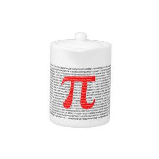 Original red number pi day mathematical symbol