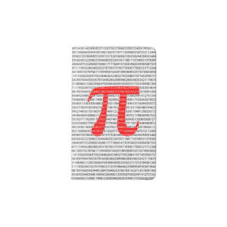 Original red number pi day mathematical symbol pocket moleskine notebook