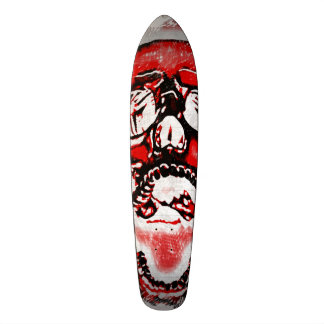 Original Red Reaper Rider Pro Long Board Custom Skateboard