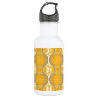 Original Retro Daisy pattern in Orange
