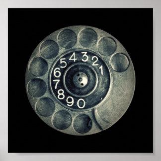 original rotary phone poster