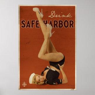 Original Safe Harbor Poster