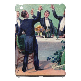 Original Saint patrick's day drink vintage poster Cover For The iPad Mini