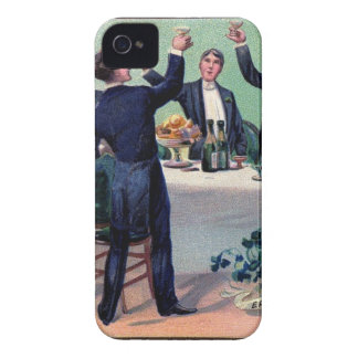 Original Saint patrick's day drink vintage poster iPhone 4 Covers