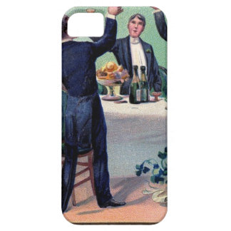 Original Saint patrick's day drink vintage poster iPhone 5 Cover