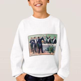 Original Saint patrick's day drink vintage poster Sweatshirt